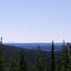 Overlook on the way into Yellowstone