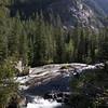 View along Cascade Canyon trail