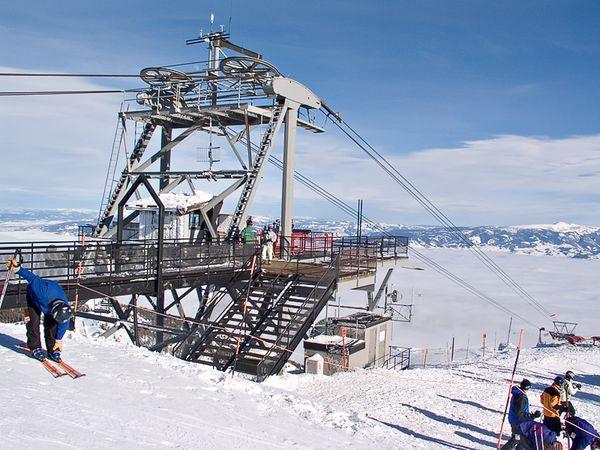 Top of tram, Corbet's Cabin