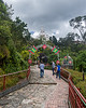 Climbing the Hill to Monserrate