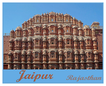 "JAIPUR - The capital city of Rajasthan also known as ""Pink City"" and is about 250 Km from Delhi. Its often the starting point for tourists to Rajasthan. Founded by Raja Sawai Jai Singh II in 1727, Jaipur is famous for Amber Fort, Jantar Mantar, Hawa Mahal, City Palace & Sisodia Rani Ka Bagh. It is also known for the textile block prints, semi precious jewelry, handicraft items and Raj Mandhir (Movie theater)."