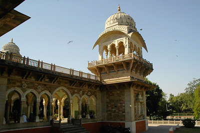 Albert Hall, the Central Museum in Jaipur is located at the Ram Nivas Garden in Jaipur, which was earlier a place of recreation for the royal families. Built by Maharaja Sawai Ram Singh II in the year 1868, the large Ram Nivas Garden also houses a zoo, a greenhouse, a museum, a sports ground and an aviary. The Albert Museum is modeled on the Victoria and Albert Museum in London. The museum proudly displays Rajasthan's art and culture. The museum has some exquisite collection of metal ware, decorative ware, miniature portrait, sculpture, paintings, along with display of costumes, pottery, brassware, woodwork, carpets and much more.