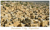 Jaisalmer City, Rajasthan, India taken from the Jaisalmer Fort, Rajasthan, India.