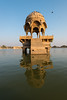 Gadi Sagar is a rainwater reservoir which was once the only source of water for the desert city of Jaisalmer in the northern state of Rajasthan.