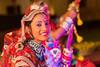 Portrait of Rajasthani Folk dancers, Jaisalmer, Rajasthan, India.