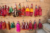 Kathputli (Puppet). Rajasthani string puppetry is vibrant and thriving. These handmade wooden puppets are much more than just plaything or decorative dolls. They are a part of the traditional performance of puppetry – narrating an event from history, myths, folklore or legend, complete with music and speech. They are the repository of traditional wisdom, knowledge and social mores. Within them are contained the oral history of the region.<br /> <br /> The tradition of handmade string puppets of Rajasthan is more than a thousand years old. It is known as 'Kaathputli' ('kaath' means wood, and 'putli' is puppet, i.e. wooden puppet) and mainly practiced by the Bhat community. Jaisalmer, Rajasthan, India.