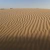 The Thar Desert actually has very few sand dunes.