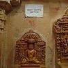 Inside a Jain temple inside Jaisalmer Fort. Always good advice.
