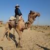 Thar desert camel ride outside Khuri.