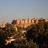 Jaisalmer fort at sunset