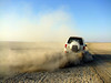 Drifting at Sambhar lake bed