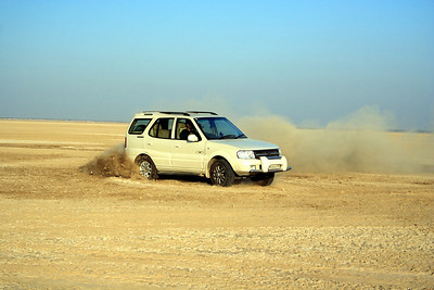 Drifting at sambhar