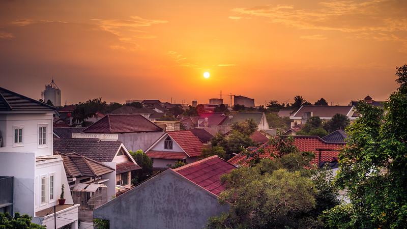 Sunset Over Bintaro