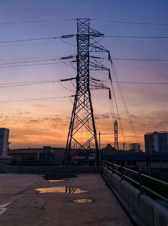 Live Wire Sunrise