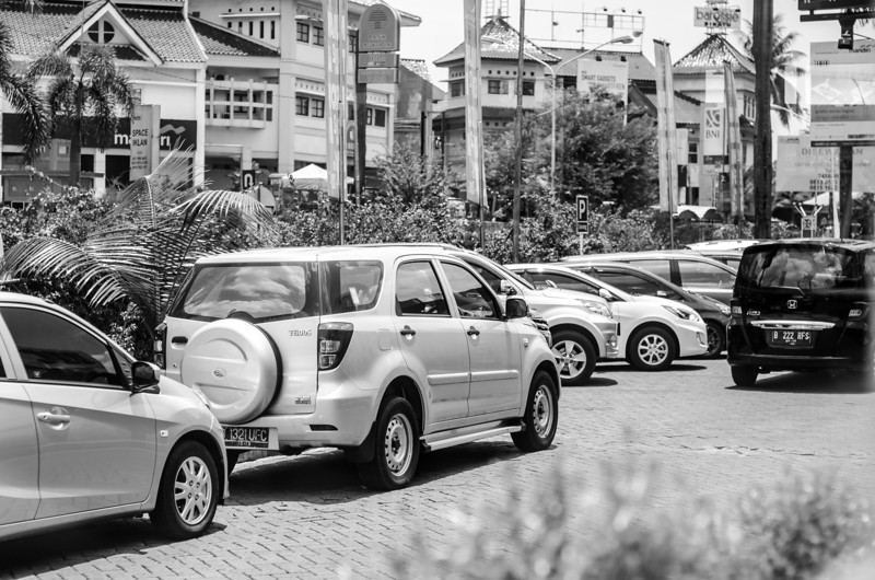 Bintaro Plaza Parking Lot