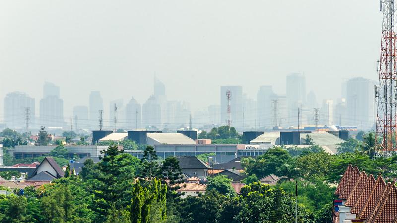 Hazy Jakarta