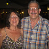 Mom and Dad outside at the Riu.