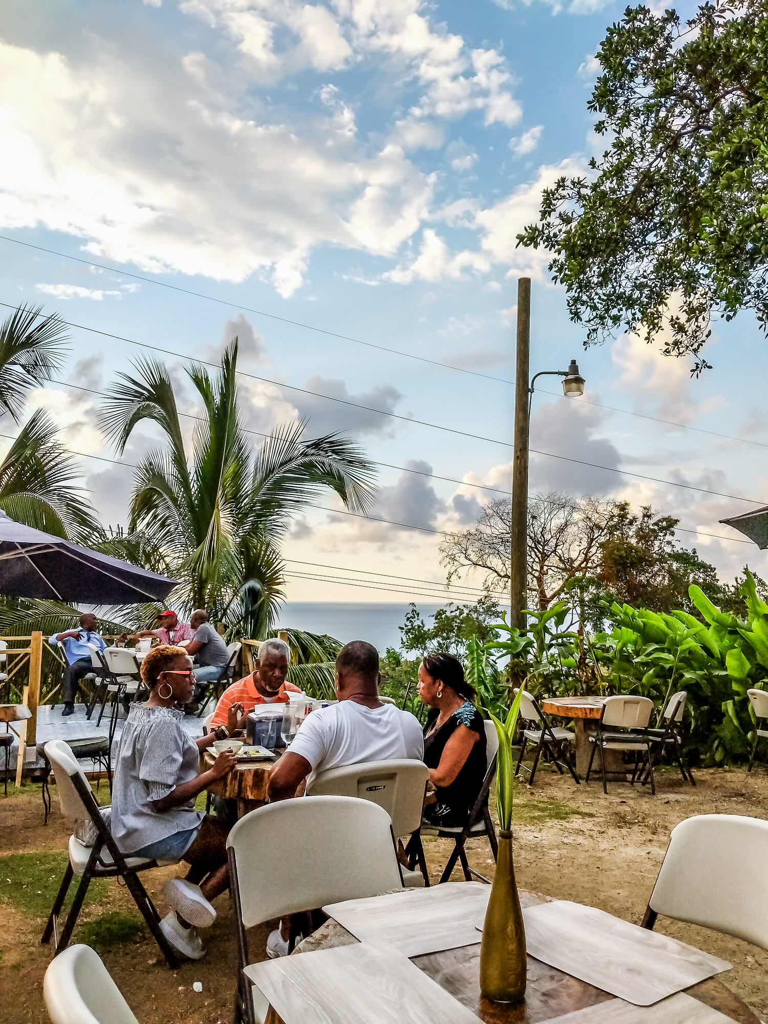 Wondering where to eat in Montego Bay? Peppa's Cool Spot is run by a chef well known on the island and is packed with locals.
