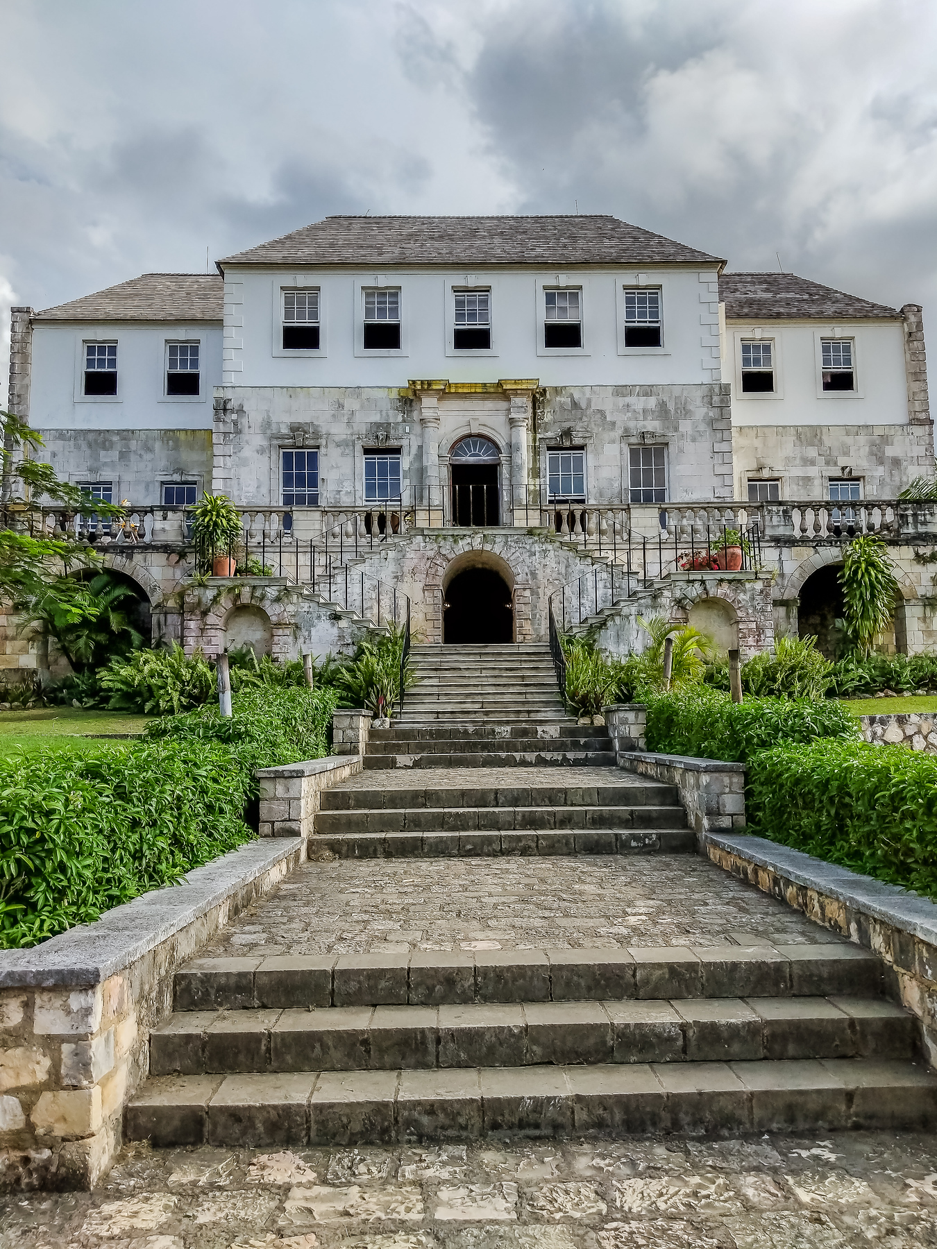 Rose Hall Great House is one of the best things to do in Montego Bay, once home to the White Witch it's considered one of the most haunted places in the world.