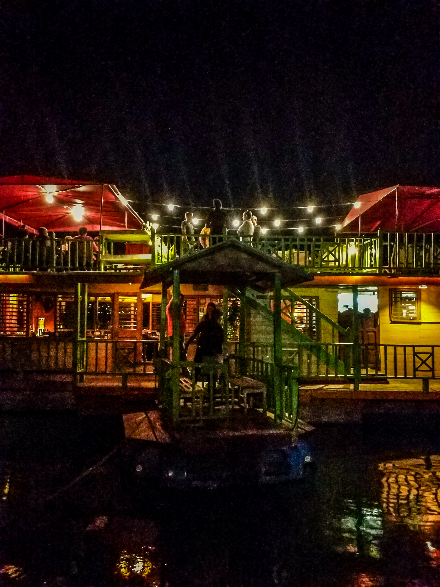 Wondering where to eat in Montego Bay? The HouseBoat Grill is one of the most unique and popular spots on the island.