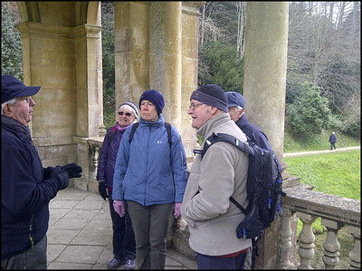 Lecture from the National Trust chap - David. Culture, history and nature at every turn.