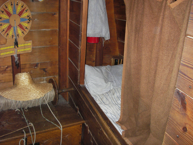 Sleeping quarters onboard for the journey across the ocean!