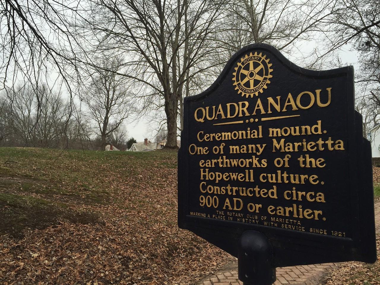 Quadranaou Mound, Marietta