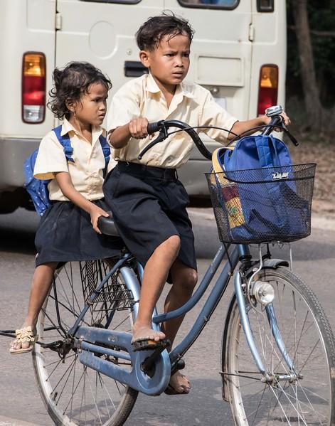Siem Reap Schoolbus