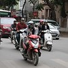 Hanoi commuters