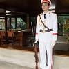 Guarding Ho Chi Minh House