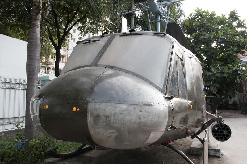US chopper in War Remnants Museum, Saigon/Ho Chi Minh City