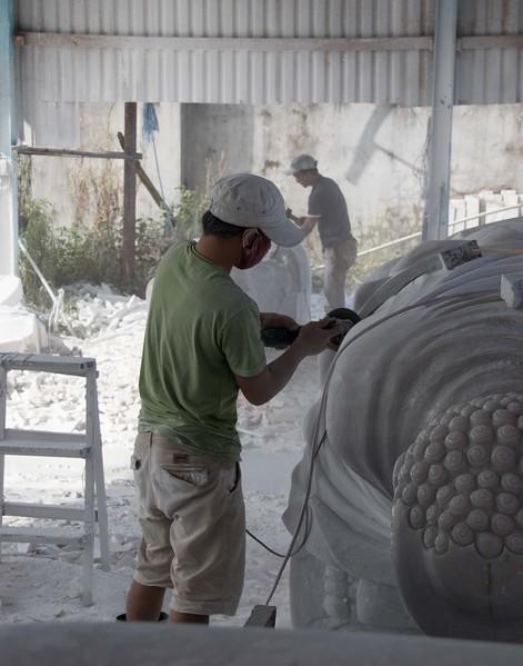Carving marble, Da Nang