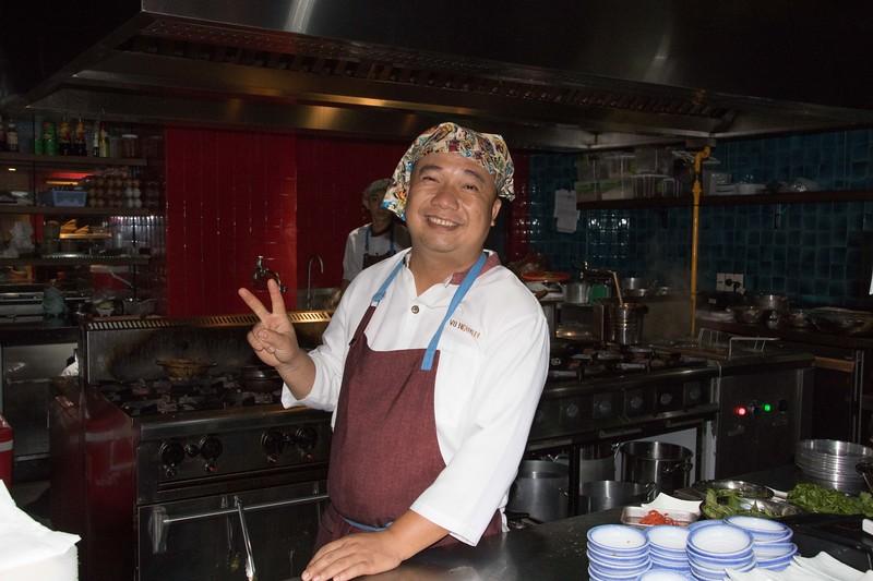 Asian chef, Saigaon
