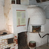 Inside the old bakery we get to see the original oven.