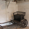 This was Jane's donkey cart. Just right for driving around the village.