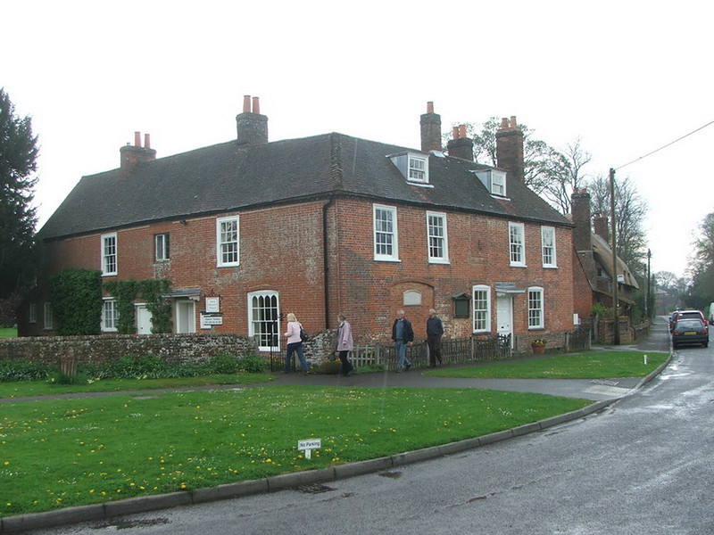 Jane Austen's House in the village os Chawton, Hampshire,