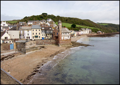 The delightful Cawsand and the view from our room.