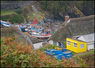 Colourful Cadgwith