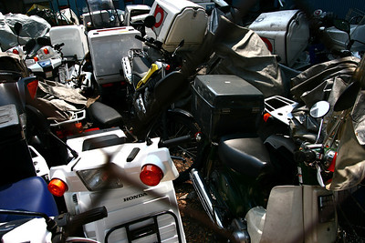 Scooter graveyard...