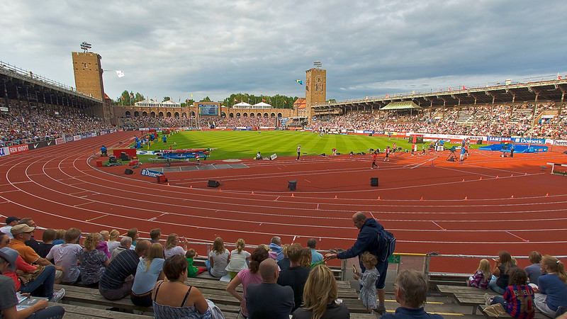 Olympic Stadion 1912 in Stockholm - STILL IN USE!
