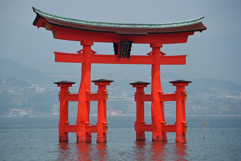 Miyajima's floating torii.