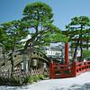 Kamakura is 25 miles south of Tokyo.