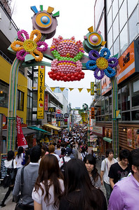Exploring the hip shopping street in Harajuku