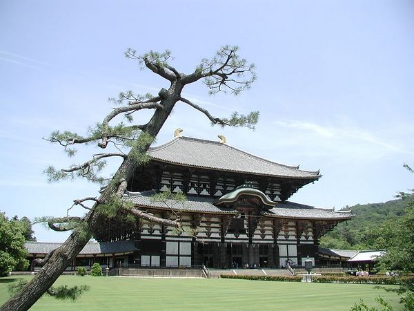 Temple of the Daibutsu, Nara