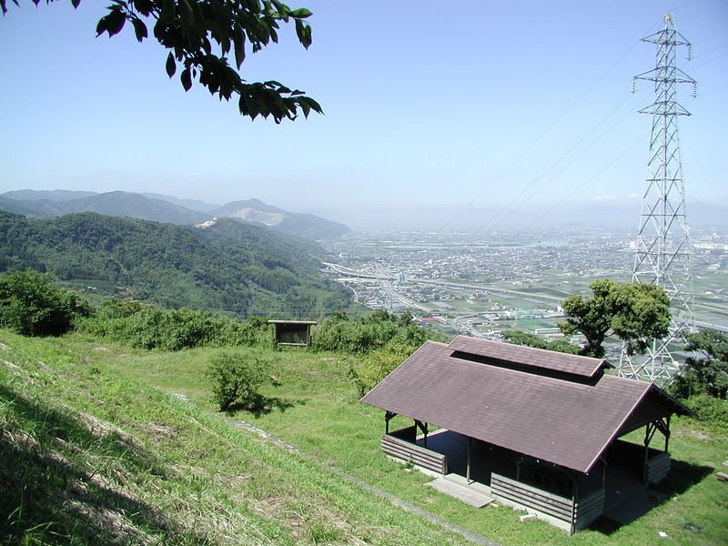 Yatsushiro and a rest area structure