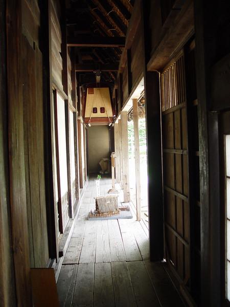 Front veranda of house