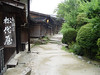 Side street in front of Tsumago Ryokan