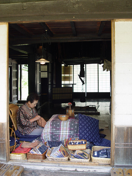 Sewing demonstration