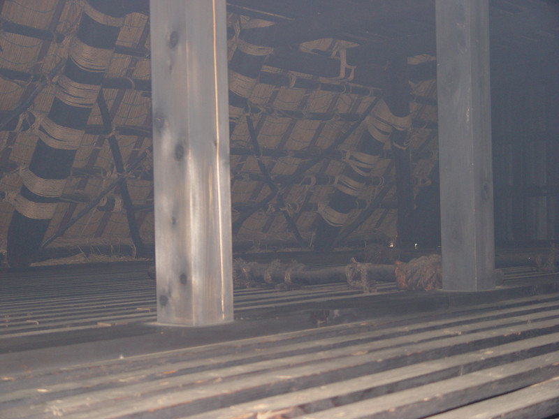Upper story of Gassho Zukuri house