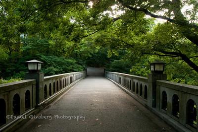 A bridge in Yamanaka Onsen, Japan.
